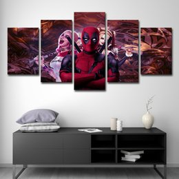 $enCountryForm.capitalKeyWord NZ - Wall Art Canvas Painting Home Decor HD Printed Canvas 5 Panel Poster Sports Cartoon Movie Game Anime Pictures