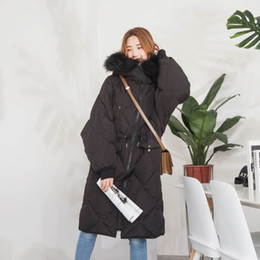 d5c25d87feee 2018 Autumn And Winter New Product Ma am Down Jackets Japan And South Korea  Hair Lead Easy Long Fund Down Jackets parka coats for women Sale