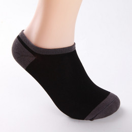 BamBoo fiBre online shopping - Summer Men S Bamboo Fibre Invisible Boat Socks Ankle Socks Male Fashion Sock Slippers pairs