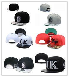 Good Design Cheap Hot Last Kings Leather Snapback hats white lastking LK  Designer Brand mens women baseball caps hip-hop street caps 35f91f03567b