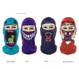 Biker face scarves online shopping - 3D printing skull masks Multi Function Bandana Ski Sport Motorcycle Biker Scarf Face Masks Outdoor hiking camping dustproof caps