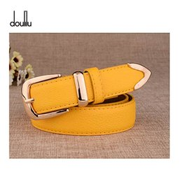 Leather Belts For Buckles Australia - DOULILU New Designer Fashion Women's Belts Genuine Leather Brand Straps Female Waistband Pin Buckles Fancy Vintage for Jeans