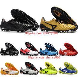 Baratos de fútbol de cuero de la nueva llegada 2018 barato Morelia Neo II FG  zapatos de fútbol para hombre botas de fútbol al aire libre 0120a60913368