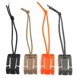 $enCountryForm.capitalKeyWord NZ - Hot!Portable Plastic Rectangle Buckle Outdoor Hiking Camping Mountaineering Backpack Bottle Gadgets Hanging Fixing Buckles With Elastic Rope