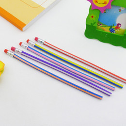 $enCountryForm.capitalKeyWord NZ - 5pcs lot Multifunctional toys pencils Korean creative stationery prizes cartoon free bend pen soft pencil safety pen