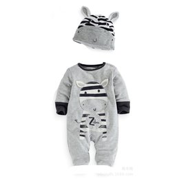 $enCountryForm.capitalKeyWord Canada - long sleeve cow baby boys rompers kids newborn bodysuits grey solid children sleepwear baby girls jumpsuits outfits infant toddler new style