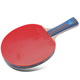 $enCountryForm.capitalKeyWord NZ - Original Double fish 3star table tennis racket bat pingpong paddle fast attack loop for beginner players two sides with rubbers