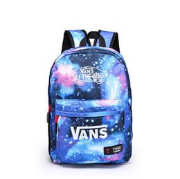 4fa96eb2f707 Новая мода школьный рюкзак для девочек Galaxy печати дорожные сумки большой  емкости путешествия девушки мальчики школьная сумка колледж Bookbag