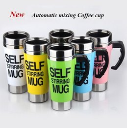 $enCountryForm.capitalKeyWord Australia - 350ml Coffee Milk Automatic Mixing Cup Self Stirring Mug Stainless Steel Thermal Cup Electric Smart Double Insulated Cup Gifts