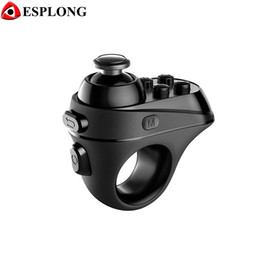 $enCountryForm.capitalKeyWord Australia - R1 Mini Ring Bluetooth 4.0 Gamepad Rechargeable Wireless VR Remote 3D VR Glasses Game Controller Joystick for IOS Android Phones