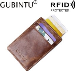 Credit card protection wallets nz buy new credit card protection bank badge id business credit men card holder genuine leather rfid wallet protection blocking case for porte carte cardholder reheart Choice Image