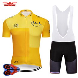 2018 Tour De France Cycling Jersey Set MTB Shirt Bike Clothing Ropa  Ciclismo Bicycle Clothes Cycling Wear Mens Short Maillot Culotte 05671ed23