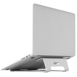 Macbook Aluminum Australia - AP-1 Laptop Cooling Stand Aluminum Alloy Ergonomic 18 Degree Angle Holder Support 11-17 inch NotLapdesk Design for Macbook car