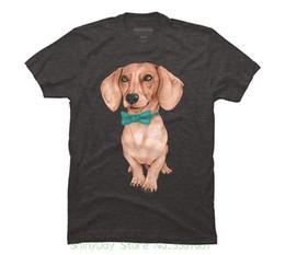 d09e7ebc Quality T Shirts Men Printing Short Sleeve O Neck Tshirt Dachshund , The Wiener  Dog Men's Graphic T Shirt