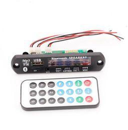 Free shipping!1pc 12V Memory Bluetooth MP3 Decoding Board FALC WAV WMA APE Audio Amplifier Receiver Decoder Player Module + Wire Remote Cont