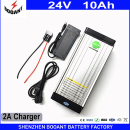 24v scooter charger NZ - e Bike Battery 24V 10Ah 350W Lithium Electric Bike Scooter Battery 24v with 29.4V 2A Charger,15A BMS Free Shipping 24v Battery