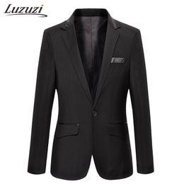 Discount slim fit luxury suits - Slim Fit Man Suit Jacket Luxury Mens Stage Wear Casual Men'S Jacket And Suits Dress Blazer Masculino Colbert Jasje Manne