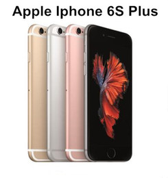 entsperrte iphone 6s großhandel-Original Apple iPhone s iPhone s Plus Dual Core GB RAM GB GB GB ROM Zoll mp Camera LTE Unlocked renoviertes Telefon
