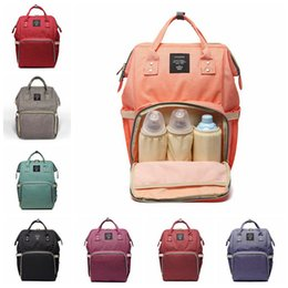 $enCountryForm.capitalKeyWord Canada - 14 Colors New Multifunctional Baby Diaper Backpack Mommy Changing Bag Mummy Backpack Nappy Mother Maternity Backpacks 3pcs H02