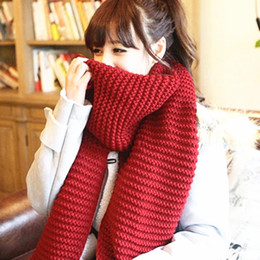 $enCountryForm.capitalKeyWord NZ - women winter scarves and wraps red cashmere knitted scarf for women italian large big scarf
