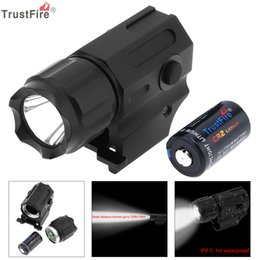 TrustFire водонепроницаемый G03 XP-G R5 LED 210LM тактический фонарик военное оружие огни + CR2 3V 750mAh литиевая батарея LEF_71G