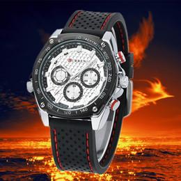 $enCountryForm.capitalKeyWord Australia - 2018 fashion sports quartz watch high-end men's silicone belt watch wholesale