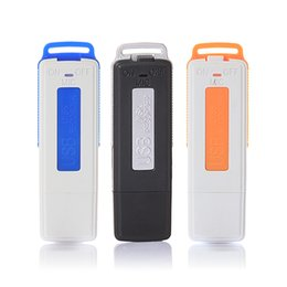 Mini Flash Drive Voice Recorder NZ - Mini 8GB USB Recorder Pen Flash Drive Disk Digital Audio Voice Recorder 15 Hours Portable HD Sounds Quality Dictaphone