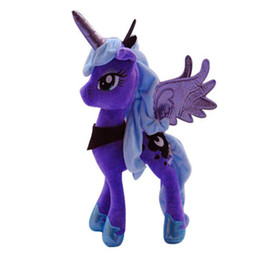 China My Pet Little Doll New Cotton Plush Toy Action Figures Friendship Is Magic Princess Luna suppliers