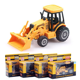 $enCountryForm.capitalKeyWord Australia - Alloy Machineshop Trucks, Forklifts, Tractor shovel, Excavators, Bulldozers, 4 kinds, for Kid' Birthday' Gifts, Collecting, Home Decorations