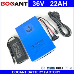 $enCountryForm.capitalKeyWord Australia - 36V 22AH E-bike Lithium ion battery for Bafang 800W 1000W 1500W Motor Electric Bicycle battery 36V +2A Charger free shipping