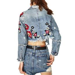 858bdf7874b8 Blumen-jeansjacke Online Großhandel Vertriebspartner