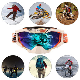 $enCountryForm.capitalKeyWord NZ - New Motocross Goggles Glasses Cycling Off Road Helmet Ski Sport Gafas For Motorcycle Dirt Bike Racing Goggles free shipping
