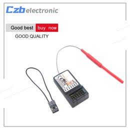 Wholesale FS R6B Ghz CH RC AFHDS FS R6B Receiver for i6 i10 T6 CT6B TH9x Transmitter Remote Control Parts