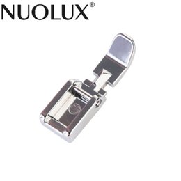 Wholesale singer brother resale online - Durable Narrow Clip On Zip Zipper Presser Foot For Brother Singer Janome Butterfly Feiyue