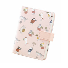 Cat notebook notepad online shopping - Cartoon cat hand book Cute quot Notebook diary writing travel record stationery school office supplies gift