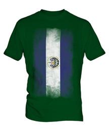 c52367fe8 EL SALVADOR FADED FLAG MENS T-SHIRT TEE TOP SALVADORAN SHIRT FOOTBALL JERSEY