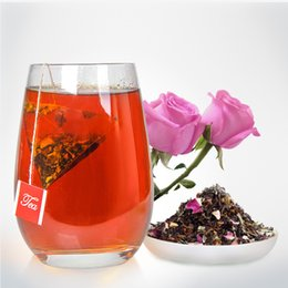 Mix Natural Flower Canada - Rushed Sale Flower Tea 3g bag Yunnan Bag Tea Flower with Puer Natural Slimming Mixed with Jasmine And Lotus Leaf 100 Bags Per Piece