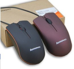 $enCountryForm.capitalKeyWord Canada - Lenovo mouse USB Optical Mouse Mini 3D Wired Gaming Mice With Retail Box For Computer Laptop Notebook Game Lenovo M20 Free Shipping