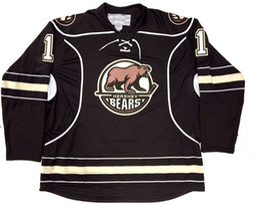 Новая вышивка Джерси хоккея медведей Брэдена Холтби Херши сшила подгоняет любые трикотажные изделия номера и имени.