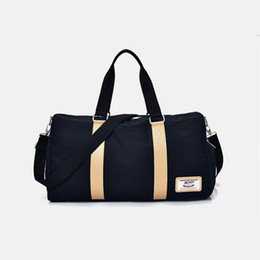 b7130624bd Male Female Travel Bag Large Capacity Men Women Handbags Luggage Canvas  Travel Duffle Bags Weekend Bags Multifunctional Travel Bags