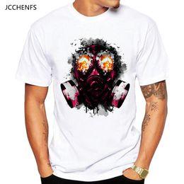Quick Dry Shirts For Men Australia - JCCHENFS 2018 Discount Sale Resident Evil Men's T-shirt Summer Fashion White Short Sleeve Skull T Shirt For Men Casual t shirt