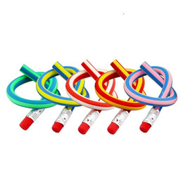 Yumuşak Kalem Bendy Silgi ile Esnek Kalem Renkli Sihirli Bendy Çocuklar için Esnek Kalem Yazma Hediye Paketi 10