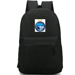 China Enyimba backpack International daypack Elephant football club schoolbag Soccer badge rucksack Sport school bag Outdoor day pack suppliers