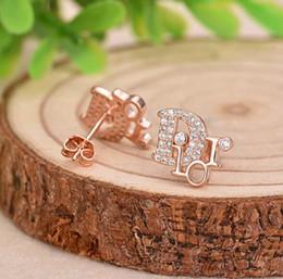 $enCountryForm.capitalKeyWord Australia - New fashion inlaid zircon zircon earrings women Super flash diamonds English earrings earrings fashion clothing accessories