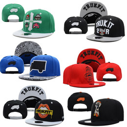 96084333 Snapbacks Hats Cap fashion Trukfit Snapback Baseball casual Caps Hat  Adjustable size High Quality mix style