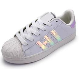 Горячие 2017 летняя мода мужская повседневная обувь Superstar женская плоская обувь женщин Zapatillas Депортива Mujer Lovers Sapatos Femininos.
