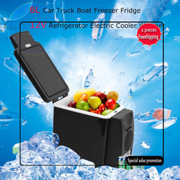 Wholesale 2017 Portable Multifunction 6L Car Refrigerator Cooler-Warmer Car Refrigerator Cooler-Warmer Freezer Mini Vehicle for Travel Camping Outdoor