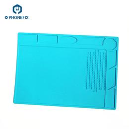Static work online shopping - FIXPHONE cm cm Anti Static Mat High Temperature Soldering Work Pad Repair Platform For iPhone iPad Samsung Xiaomi