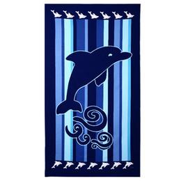 $enCountryForm.capitalKeyWord NZ - 100 * 180 Luxury Bath Towel Super-absorbent Toallas Microfibra Sport Beach Towels Soft Microfiber Environmental Printing Towels