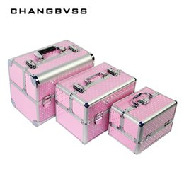 China Professional Cosmetic Case Women Wedding Gift Box Beauty Makeup Travel Train Cases Luxury Make Up Jewelry Bag Storage Case supplier beauty case box suppliers